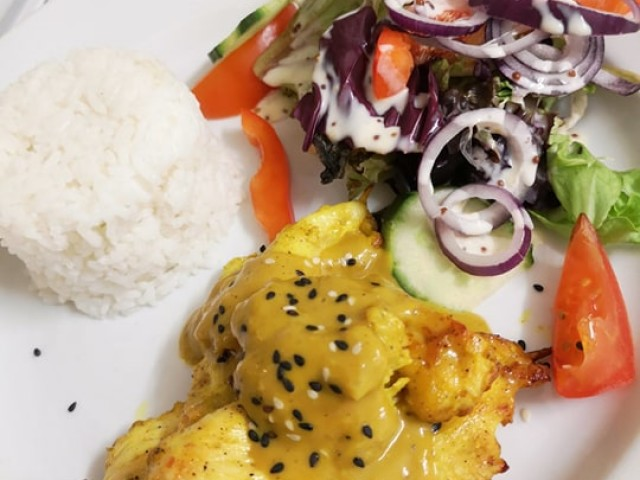 The Oyster Pearl Chicken Satay