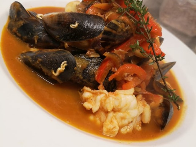 The Oyster Pearl Mixed Seafood Bouillabaisse